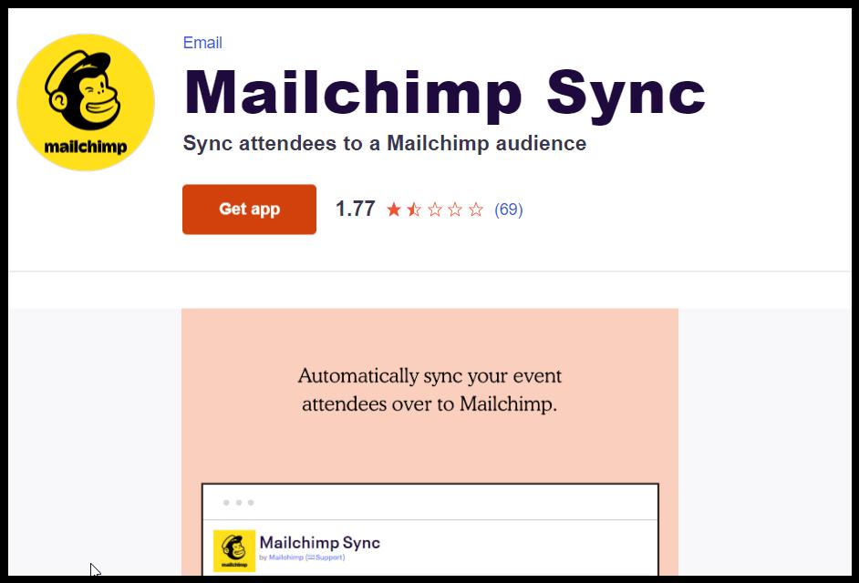 JCH Mailchimp & Eventbrite screenshot (11)