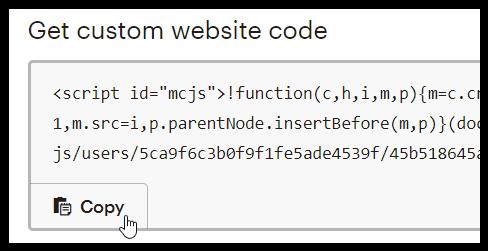 Just Click Here screenshot website code