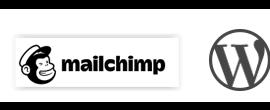 Mailchimp & Wordpress logo