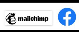 Mailchimp and facebook logo