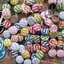 WordCamp Glasgow 2020 Badges