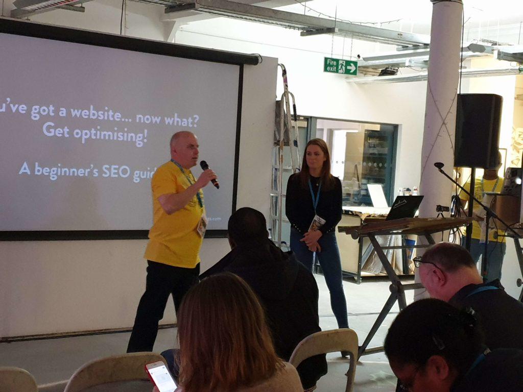 WordCamp SEO talk