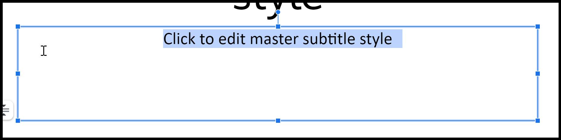 amend subtitle font