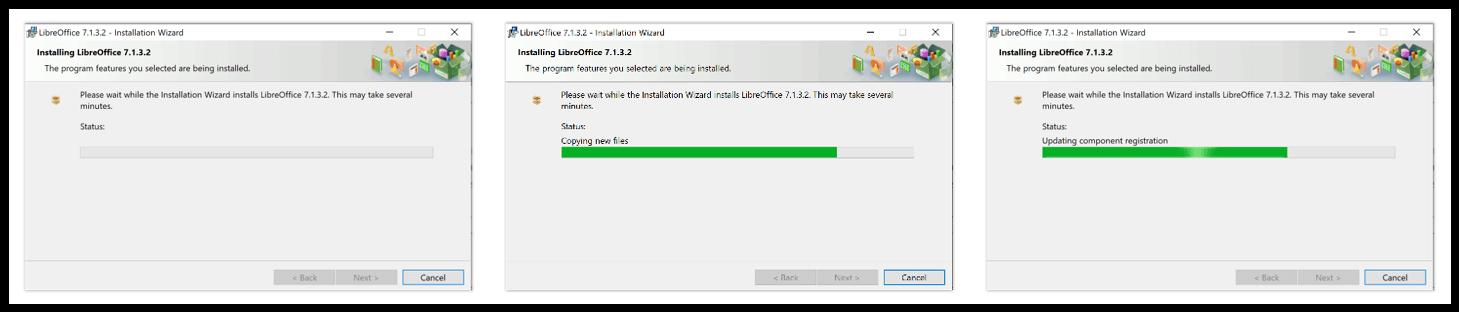 Installing LibreOffice