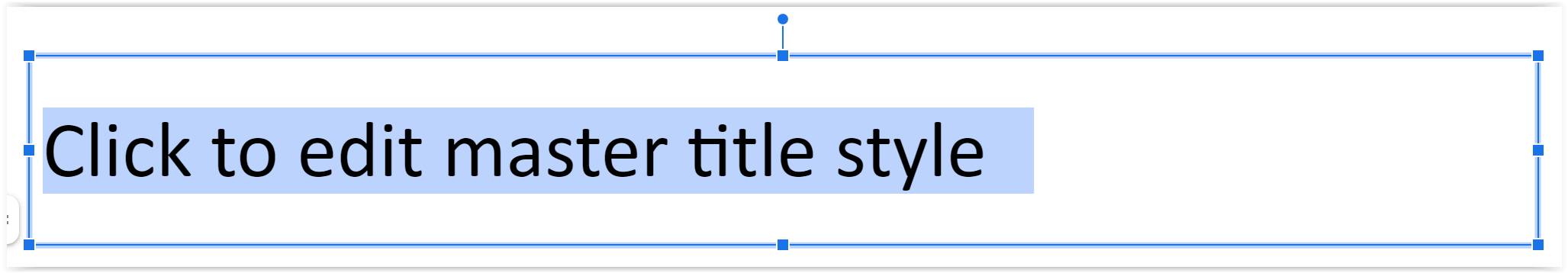 Click to edit master title style image