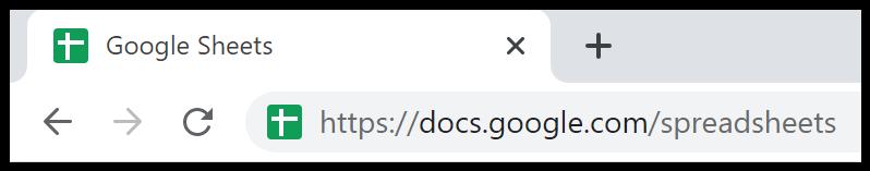 Google Sheets open