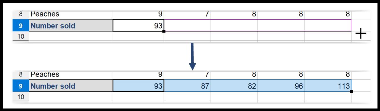 LibreOffice Calc AutoFill