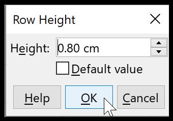 Adjust Column Height