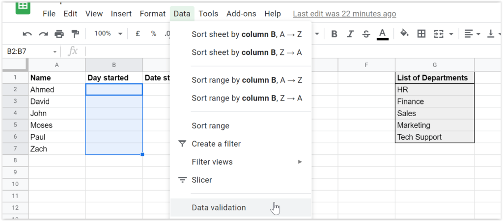Data, Data Validation